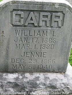 Jennie <I>Ashens</I> Carr
