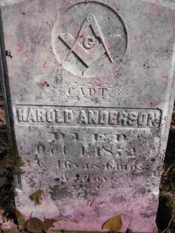 Capt Harold Anderson