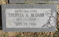 Theresa A McDaid