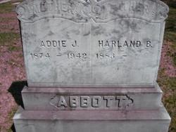 Addie J. <I>Martin</I> Abbott
