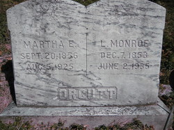"""Leonard Monroe """"Monroe"""" Orcutt"""