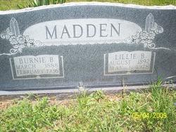 Burnie B. Madden