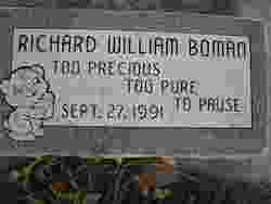 Richard William Boman