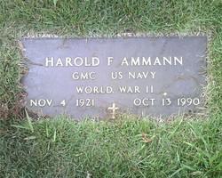 Harold F Ammann