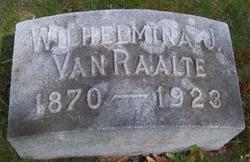 Wilhelmina Johanna Maria Van Raalte