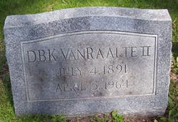 Dirk B. K. Van Raalte, II