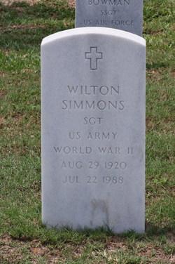 Wilton Simmons