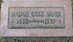 Madge <I>Cole</I> Morr