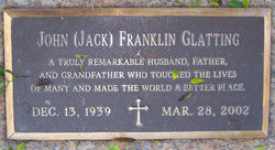 "John Franklin ""Jack"" Glatting"