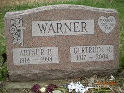 Gertrude Irene <I>Reynolds</I> Warner