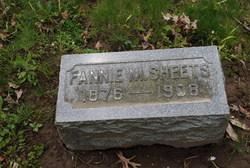Fannie M Sheets
