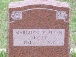 Marguerite <I>Allen</I> Scott