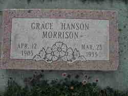 Grace Hanson Morrison