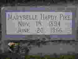 Marybelle Hardy Pike