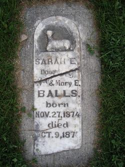 Sarah Elizabeth Balls