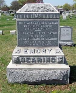 Susan Emilia <I>Searing</I> Emory