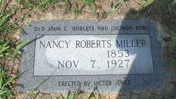 Nancy <I>Roberts</I> Miller