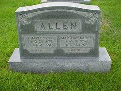 Martha <I>Blades</I> Allen