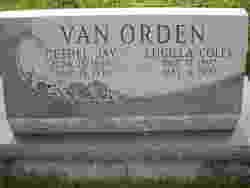 Lucilla <I>Coley</I> Van Orden