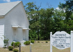 Providence Primitive Baptist Church Cemetery