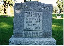 Mary Louise <I>Clark</I> Warne