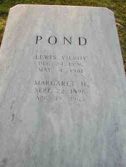 Lewis Vilroy Pond