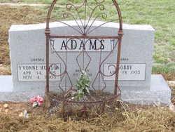Marilyn Yvonne <I>Hudson</I> Adams