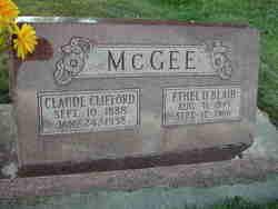 Claude Clifford McGee