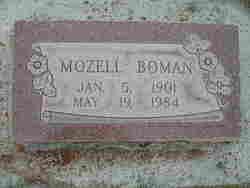 Lila Mozell <I>Pitcher</I> Boman