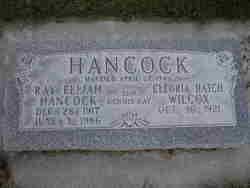 Ray Elijah Hancock Hancock