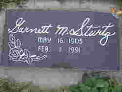 Garnett M. Sturtz