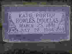Katie Lucille <I>Porter</I> Douglas