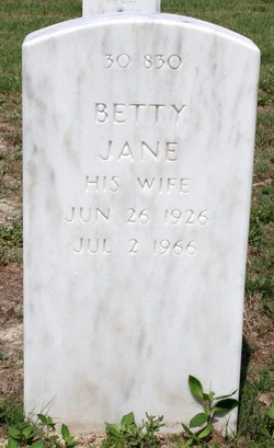 Betty Jane <I>Cain</I> Garner