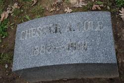 Chester Arthur Cole