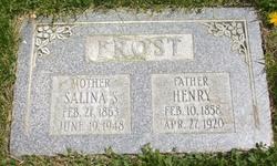Salina <I>Simpson</I> Frost