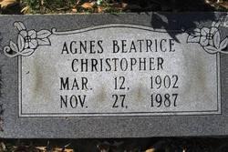Agnes Beatrice Christopher