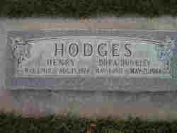 Dora Dunkley Hodges