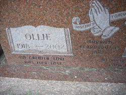 Ollie <I>Hall</I> Miller
