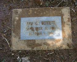 Fay C <I>Brunton</I> Bennett