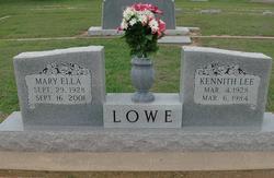 Kenneth Lee Lowe
