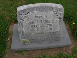 Dora Alice <I>Cress</I> Langford