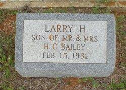 Larry H Bailey