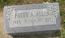 """Patricia A """"Patty"""" Allen"""