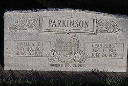 Lavell <I>Allen</I> Parkinson