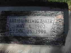 Lillie L. <I>Helwig</I> Baker