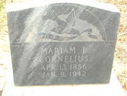Mariam Leah <I>Lee</I> Cornelius