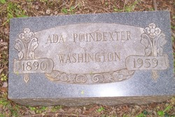 Ada Poindexter Washington