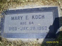 """Marie E. """"Mary"""" Koch"""