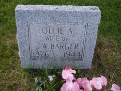 Ollie Ann <I>Short</I> Barger