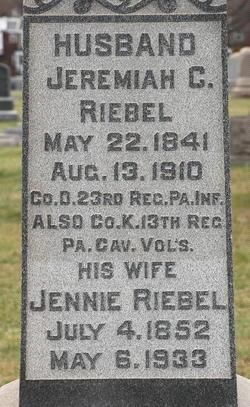 Jeremiah C Riebel